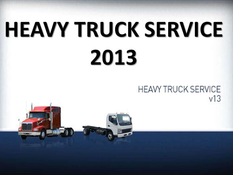 Heavy Truck Service 2013