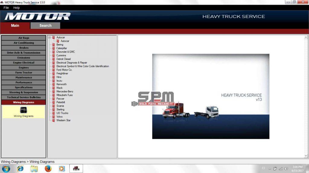 Motor Heavy Truck Service 2013