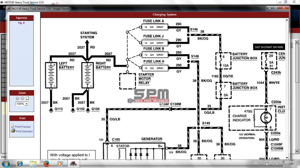 Diagramas Electricos Motor Heavy Truck Service 2013