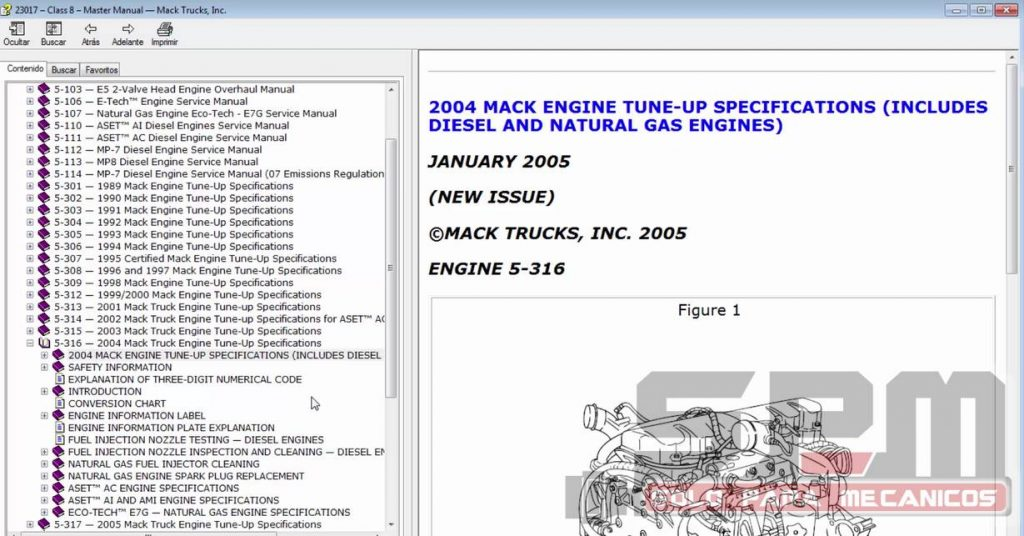 Mack Truck Service Workshop Manuals