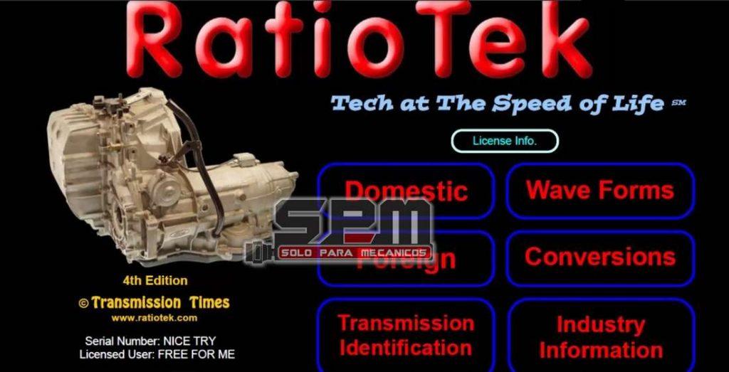 Ratio Teck reparación transmisiones automáticas