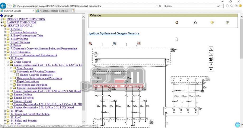 Chevrolet_Europa TIS_Opel_diagramas_electricos