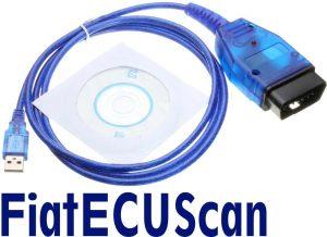FiatECUScan Interfaz