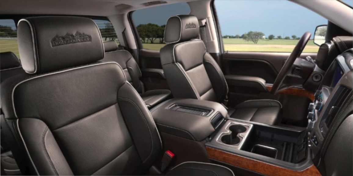 Chevrolet Silverado 2019 Interior Delantero