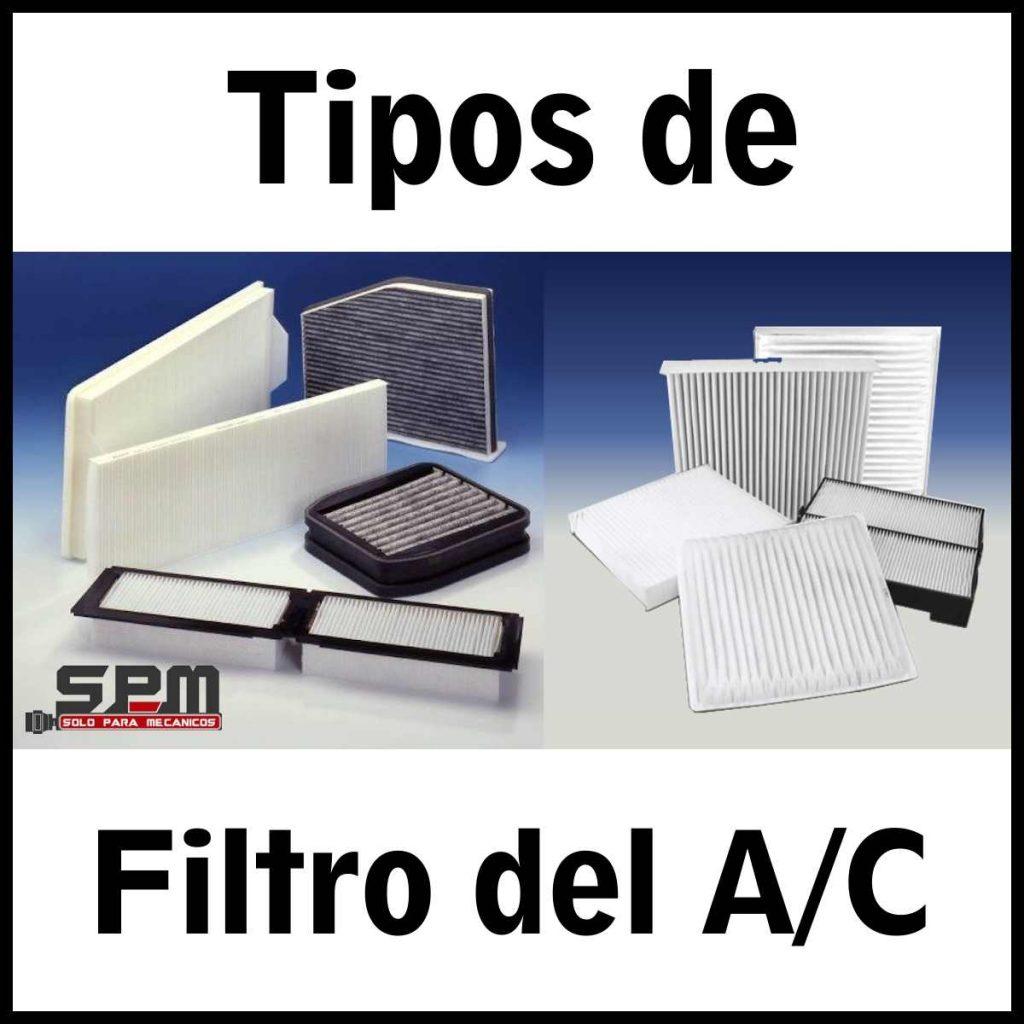 tipos de filtro aire acondicionado