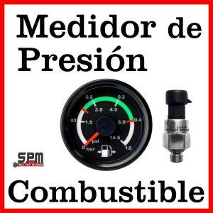 Medidor Presión Combustible