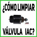 ¿Como limpiar la Válvula IAC?
