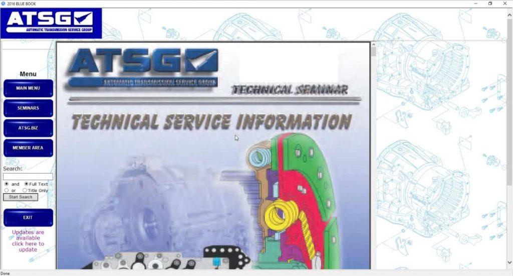 ATSG 2017 boletines de servicio