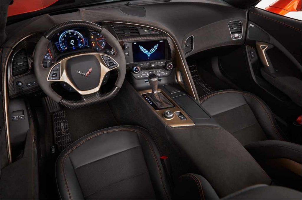 Interior Chevrolet Corvette 2019