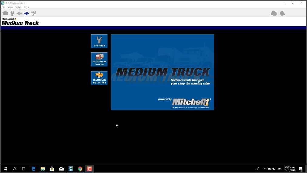 Mitchell Truck