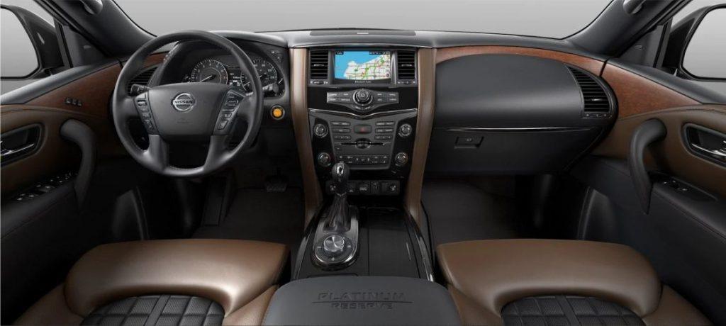 Nissan Armada 2019 Interior conductor