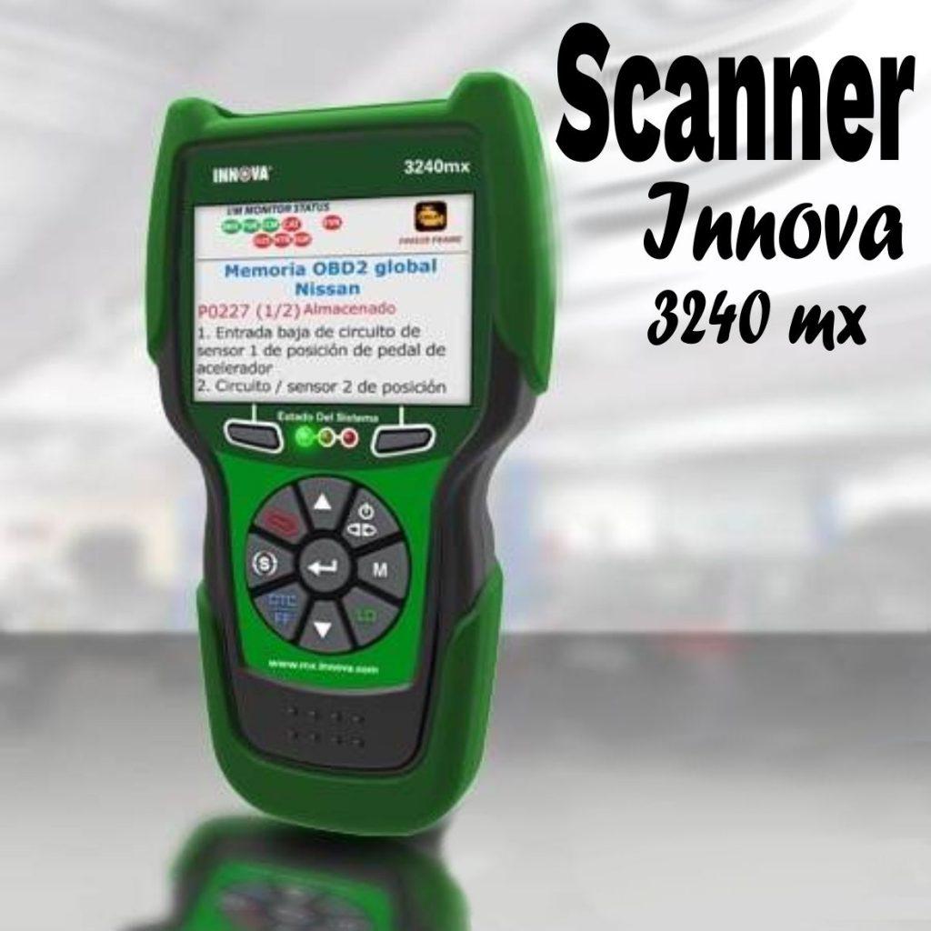 Scanner Innova 3240 mx características