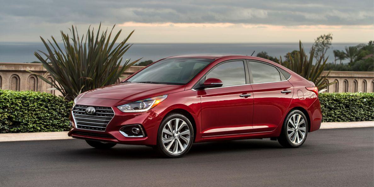 Hyundai Accent 2019 exterior frontal