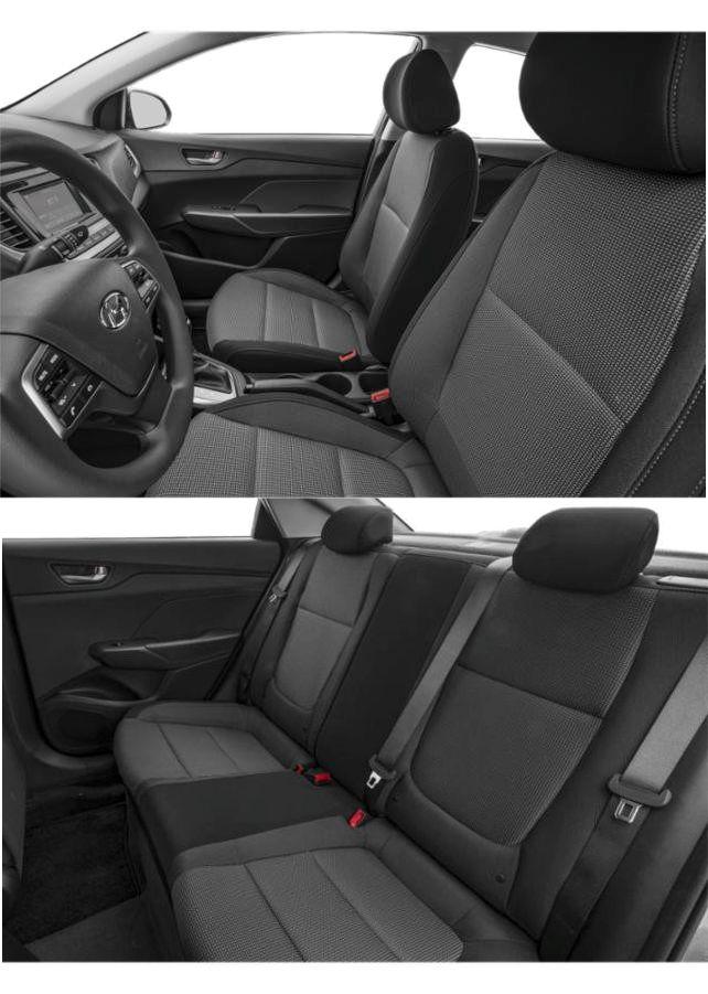 Hyundai Accent 2019 asientos