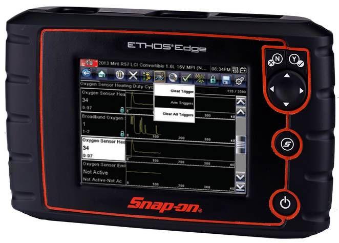 Scanner Snap On Ethos Edge funcionalidades