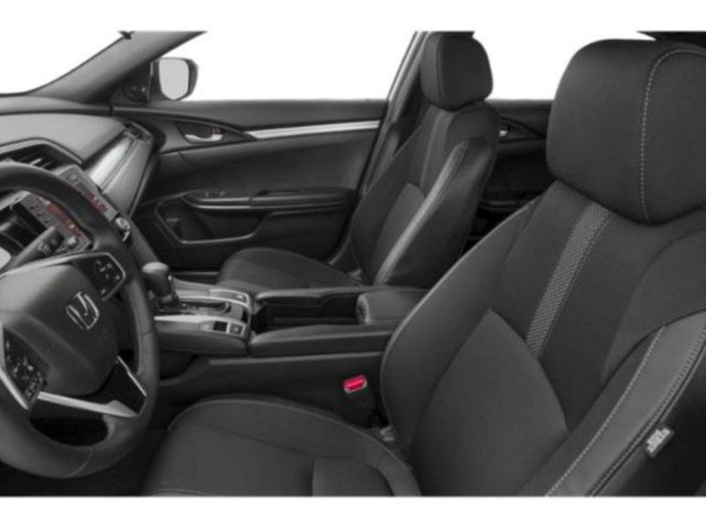 Honda Civic 2019 parte interna delantera