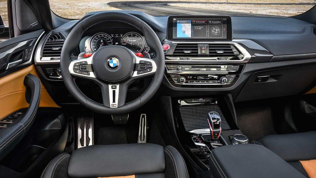 BMW X3 2019 sección Tablero