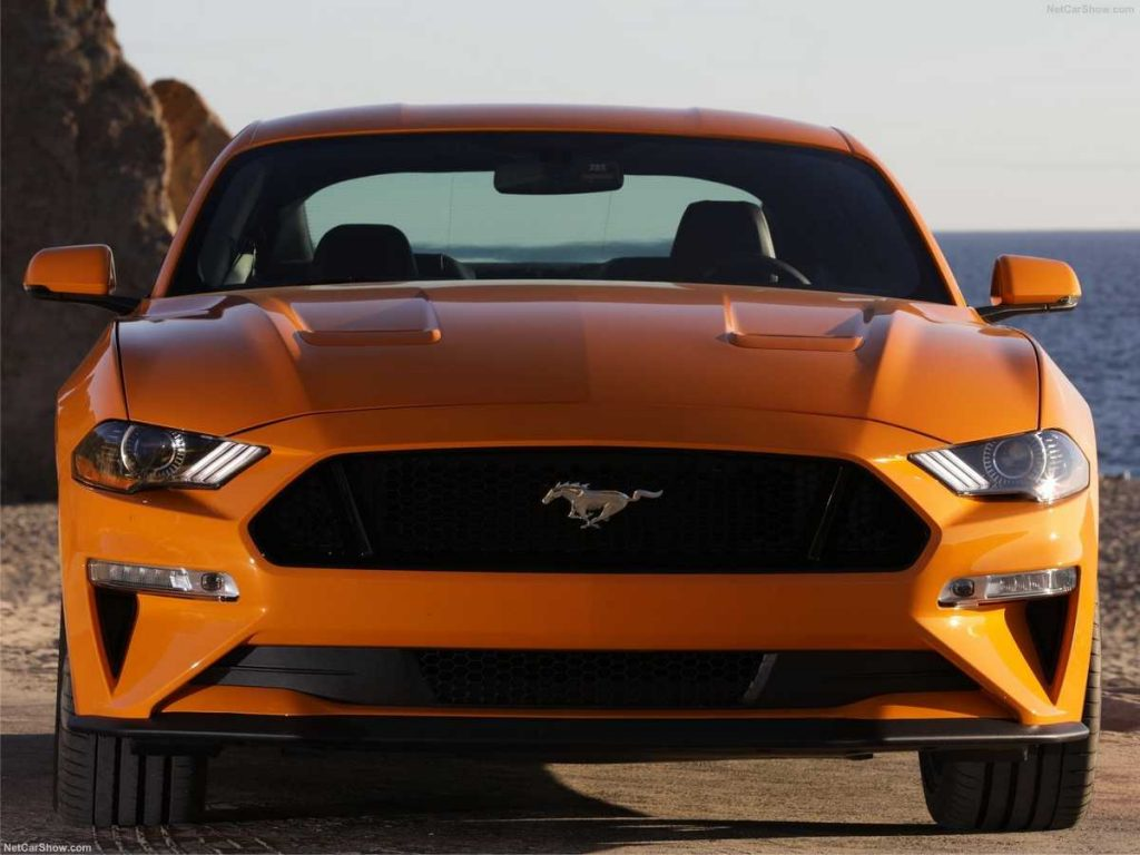 Mustang 2019 parte frontal