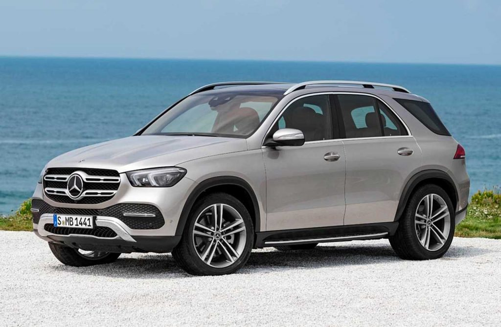 Mercedes Benz GLE 2019 Externo parte frontal
