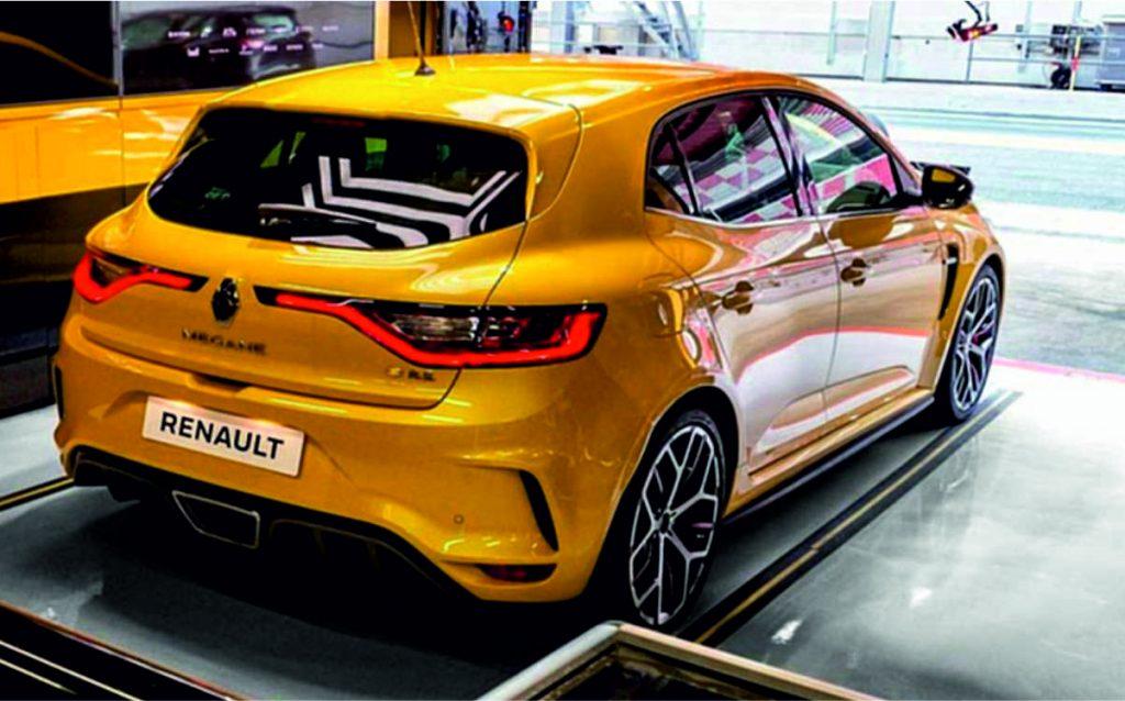 Renault Megane 2019 Exterior parte trasera