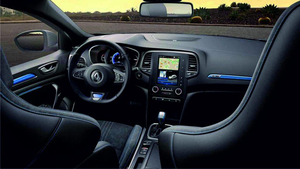 Renault Megane 2019 Interior Sección tablero