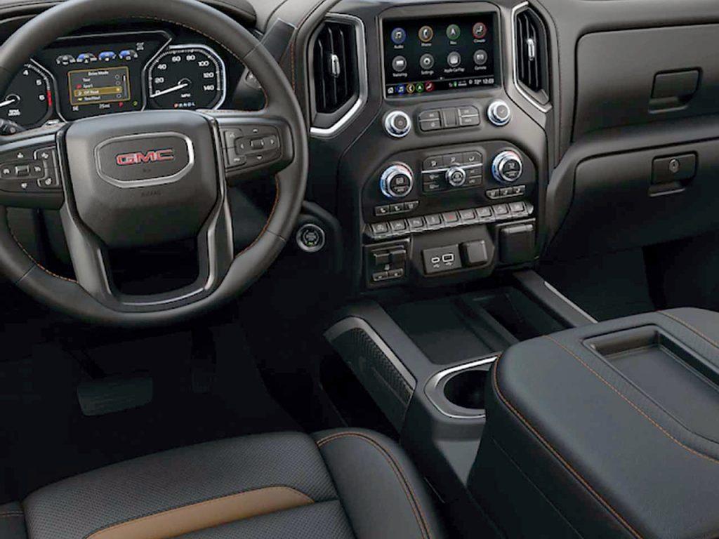 GMC Sierra 1500 2019 Interior Seccion Tablero