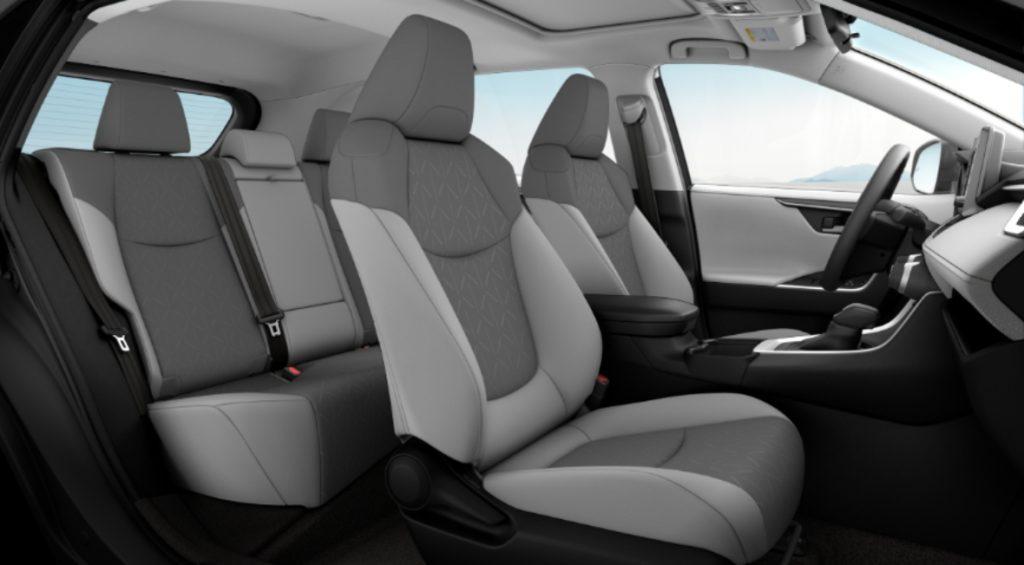 Toyota RAV4 2019 Interior Seccion Asientos