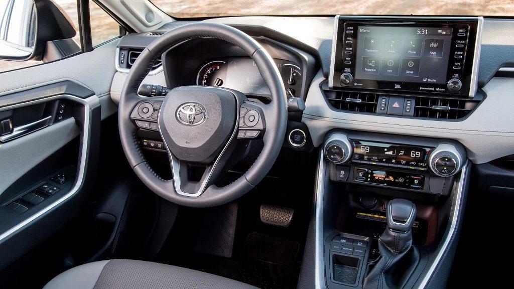 Toyota RAV4 2019 Interior Seccion Tablero
